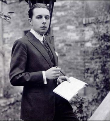 erte as a young man