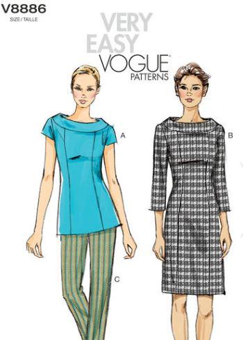 vogue-8886-sleeve-variations