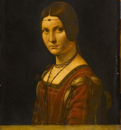 oil on wood 63 x 45 cm Musee du Louvre Paris