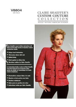 Vogue 8804 pattern front