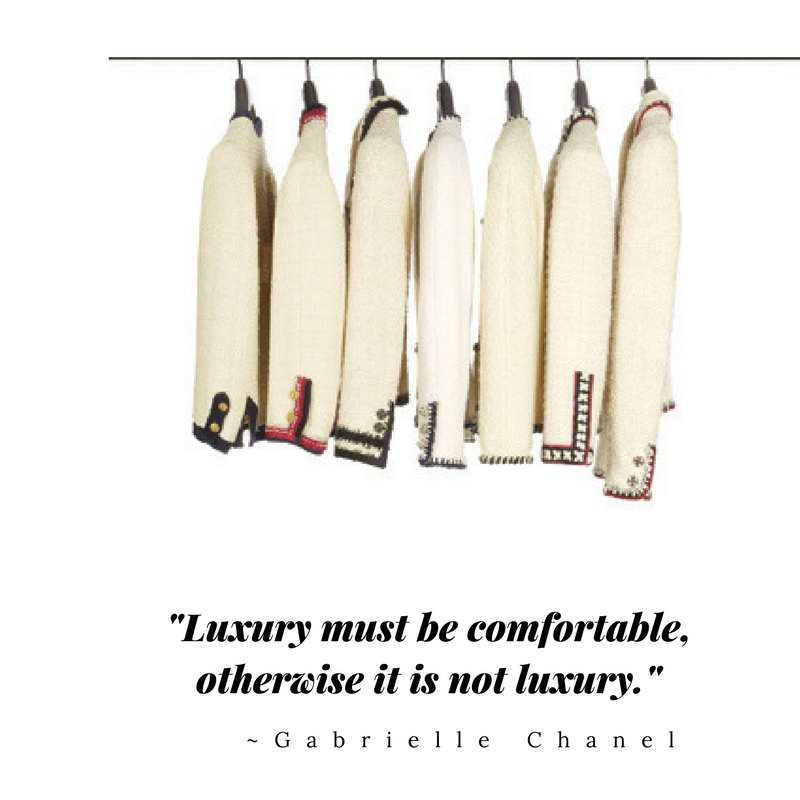-Luxury must be comfortable, otherwise it is not luxury.-