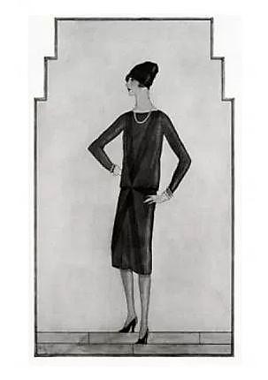 chanel first lbd 1926 vogue