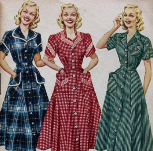 5os house dresses