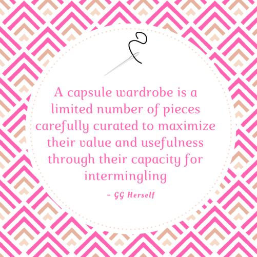 capsule wardrobe definition