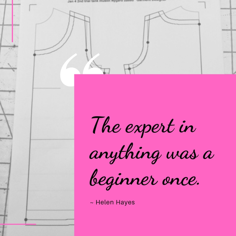 The expert in anything was a beginner once.