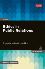 Ethics in PR 3rd edition cover